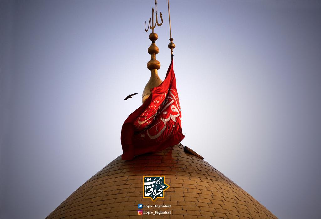 شیخ انصاری و بوسه زدن بر عتبه حضرت عباس