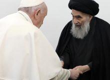 بیانیه مدرسین و محققین حوزه علمیه قم در پی دیدار پاپ فرانسیس با حضرت آیت الله سیستانی
