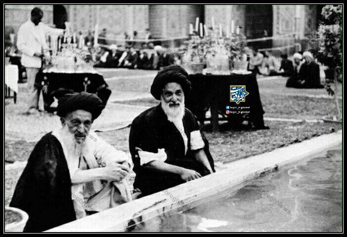 حاج میرزا حسین فقیه سبزواری و آیت الله سید علی اکبر خوئی